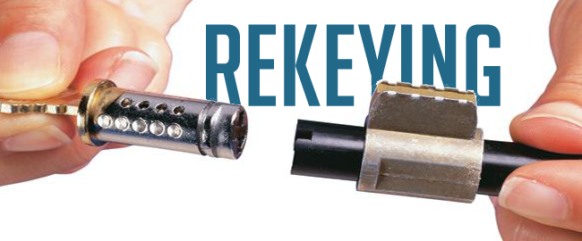 locksmith rekeying